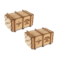 2 X Big Machinery Crates