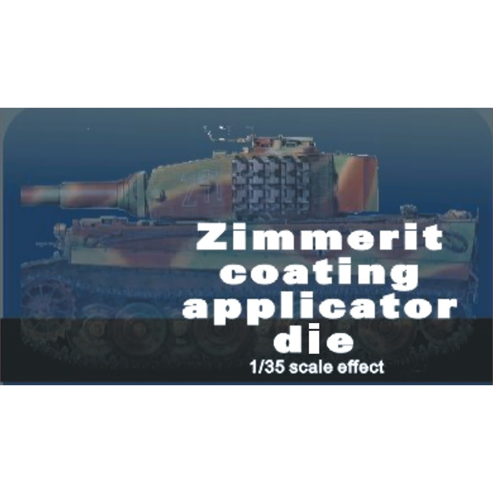 Zimmerit Coat Applicator Die