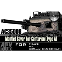 Centurion Mantlet Cover Type A (vinyl)