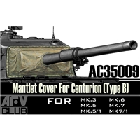 Centurion Mantlet Cover Type B (vinyl)