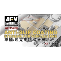 Anti-slip Coating Stickers for Tanks/Aircraft/Ships
