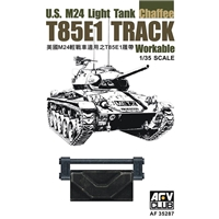 T85E1 Workable Track for U.S. M24 Light Tank