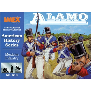Mexican Infantry at Alamo
