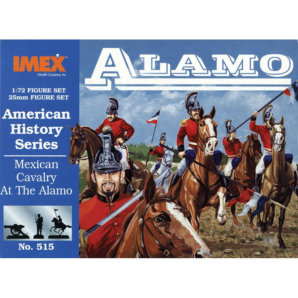 Mexican Cavalry at Alamo