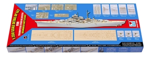 PKLK66601 Bismarck 1941 1/350 scale Detail-up Set