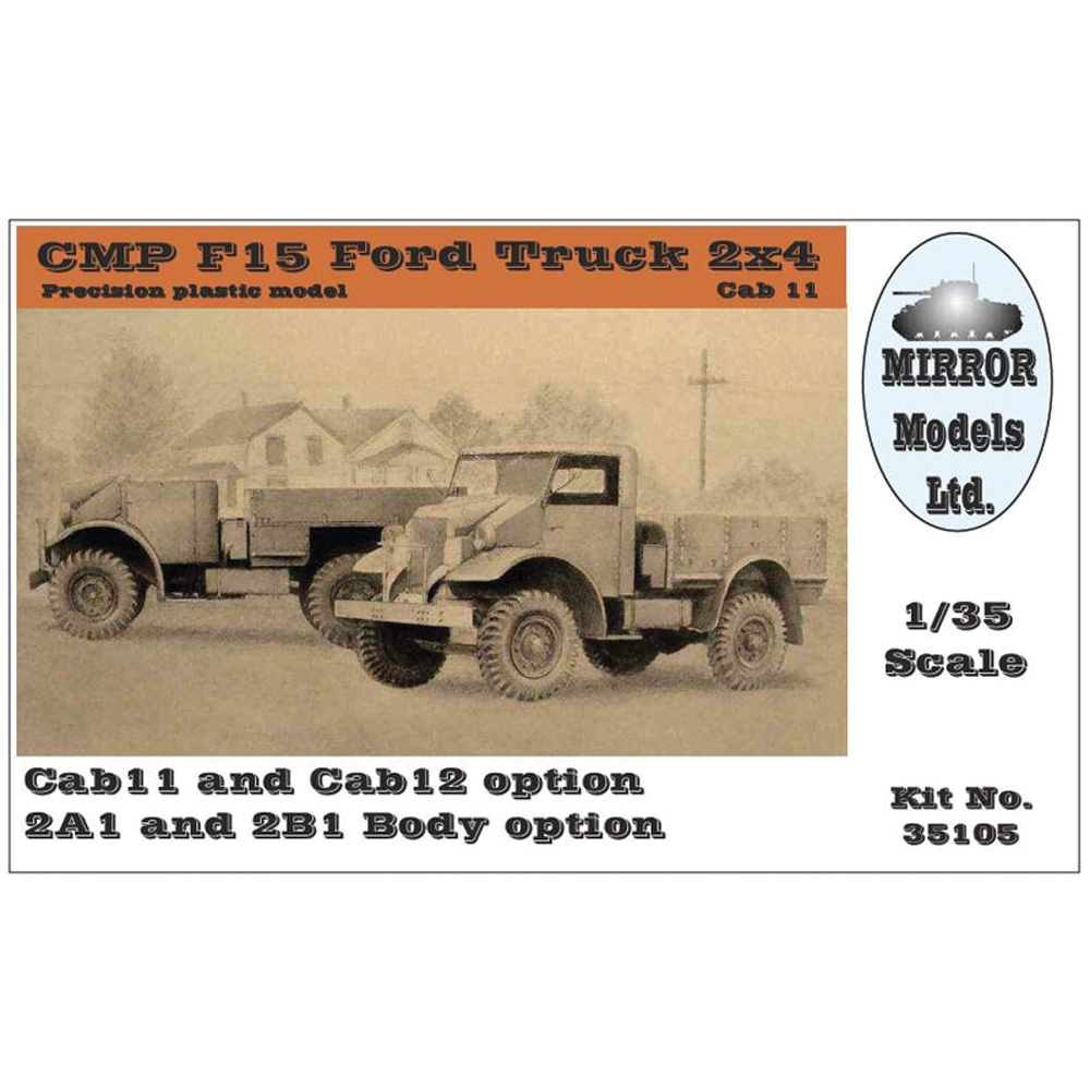 PKMR35105 CMP F15 Ford Truck 4x2 (2 cab & body options)
