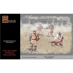 PKPG3202 Gladiators Set 2 (10 figures)