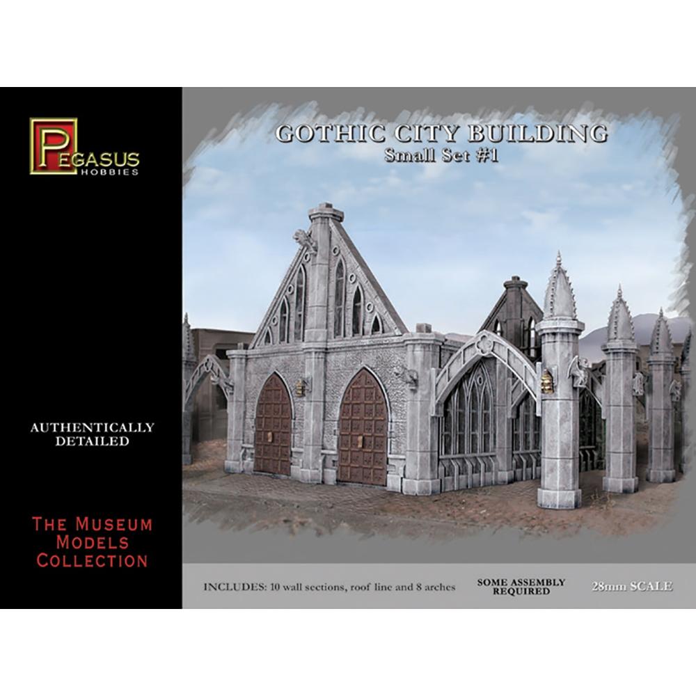 Gothic City Building Small Set 1