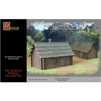 Russian Single-Storey Log House (2 pcs)
