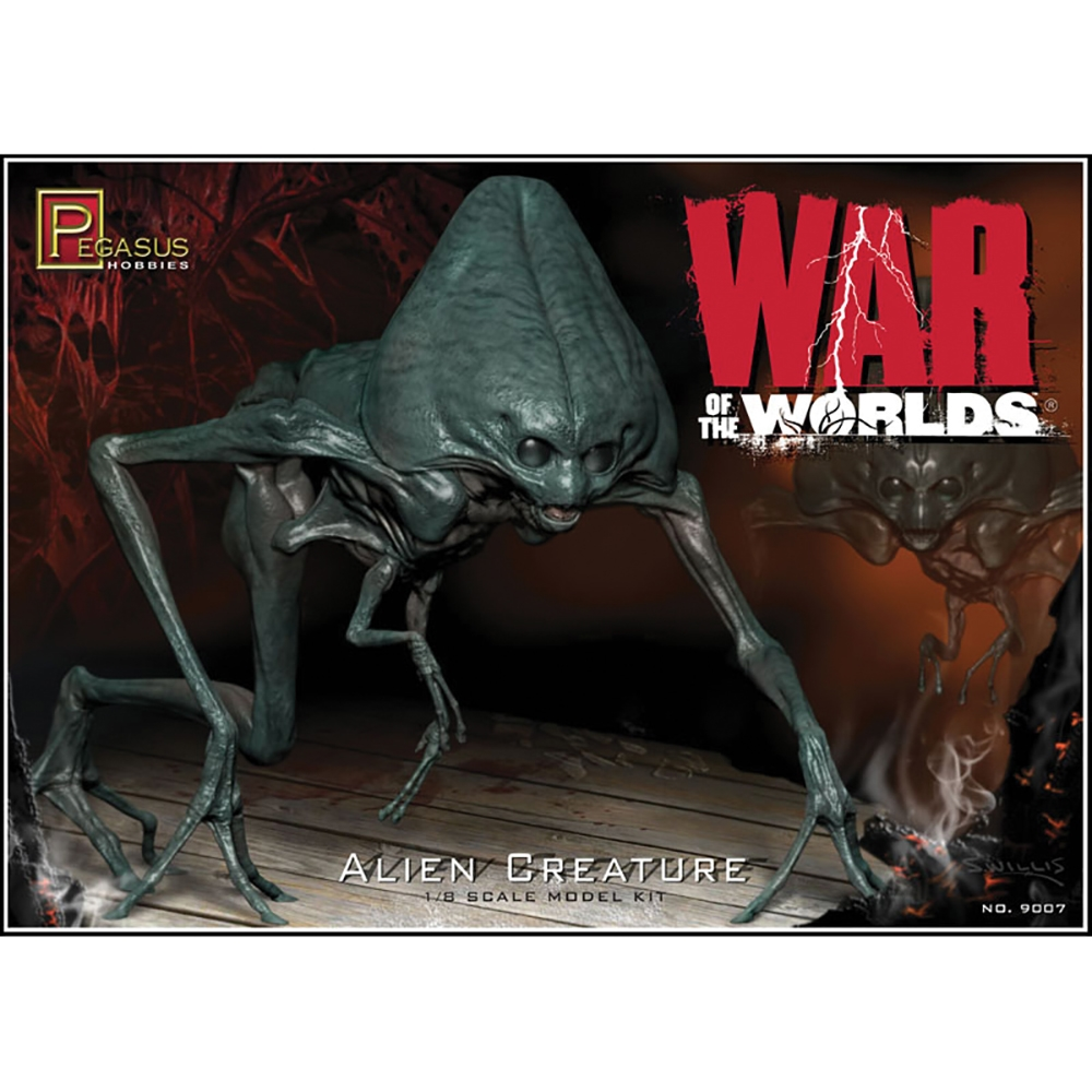 War of the Worlds Alien Figure (kit)