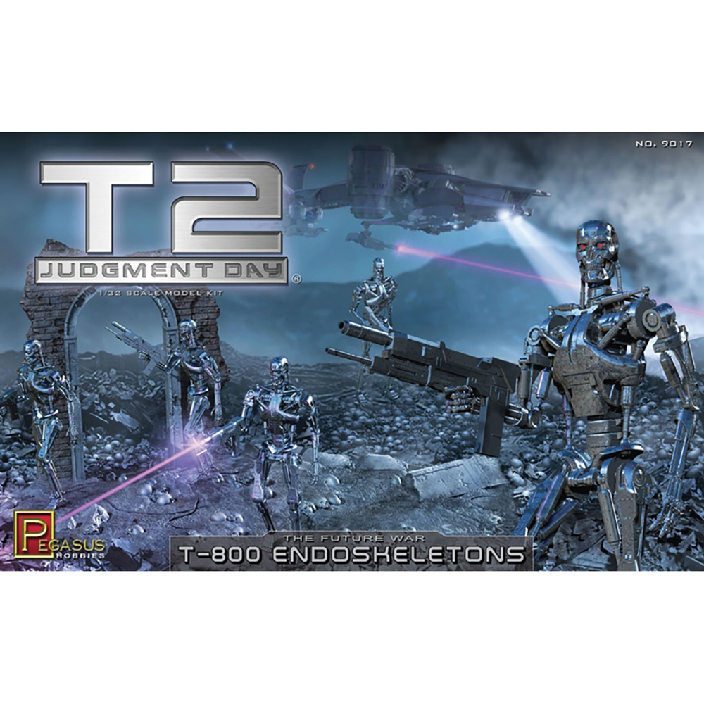 T2 T-800 Endoskeletons (kit)