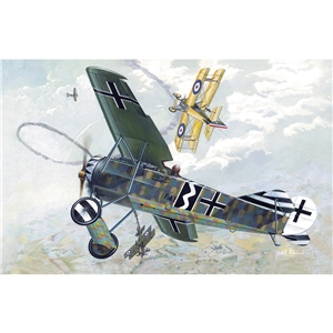 Fokker E.V/D.VIII, Ger/Dutch/Polish 1918
