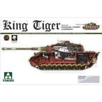 German Heavy Tank SdKfz 182 King Tiger, Henschel Turret w/Zi