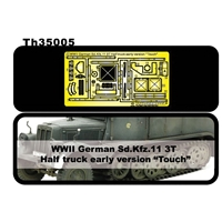 SdKfz 11 3T Half Truck (Early) PE Detail Set