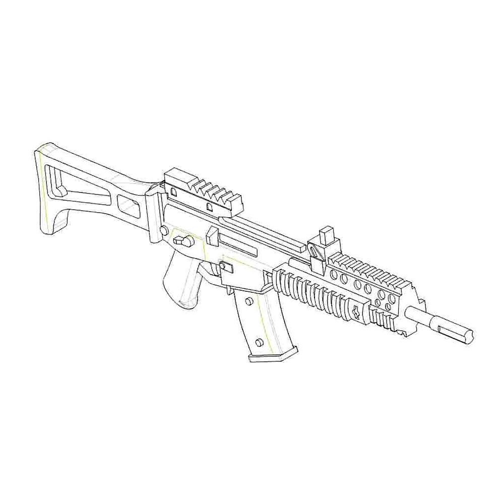 Heckler & Koch G36 KSK (qty 4)