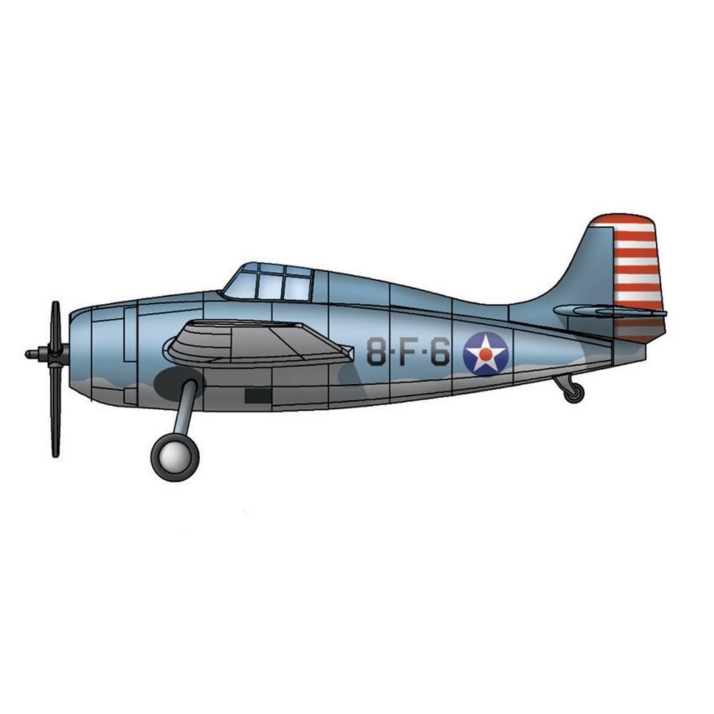 F4F-4 Wildcat for USS Hornet (qty 10)