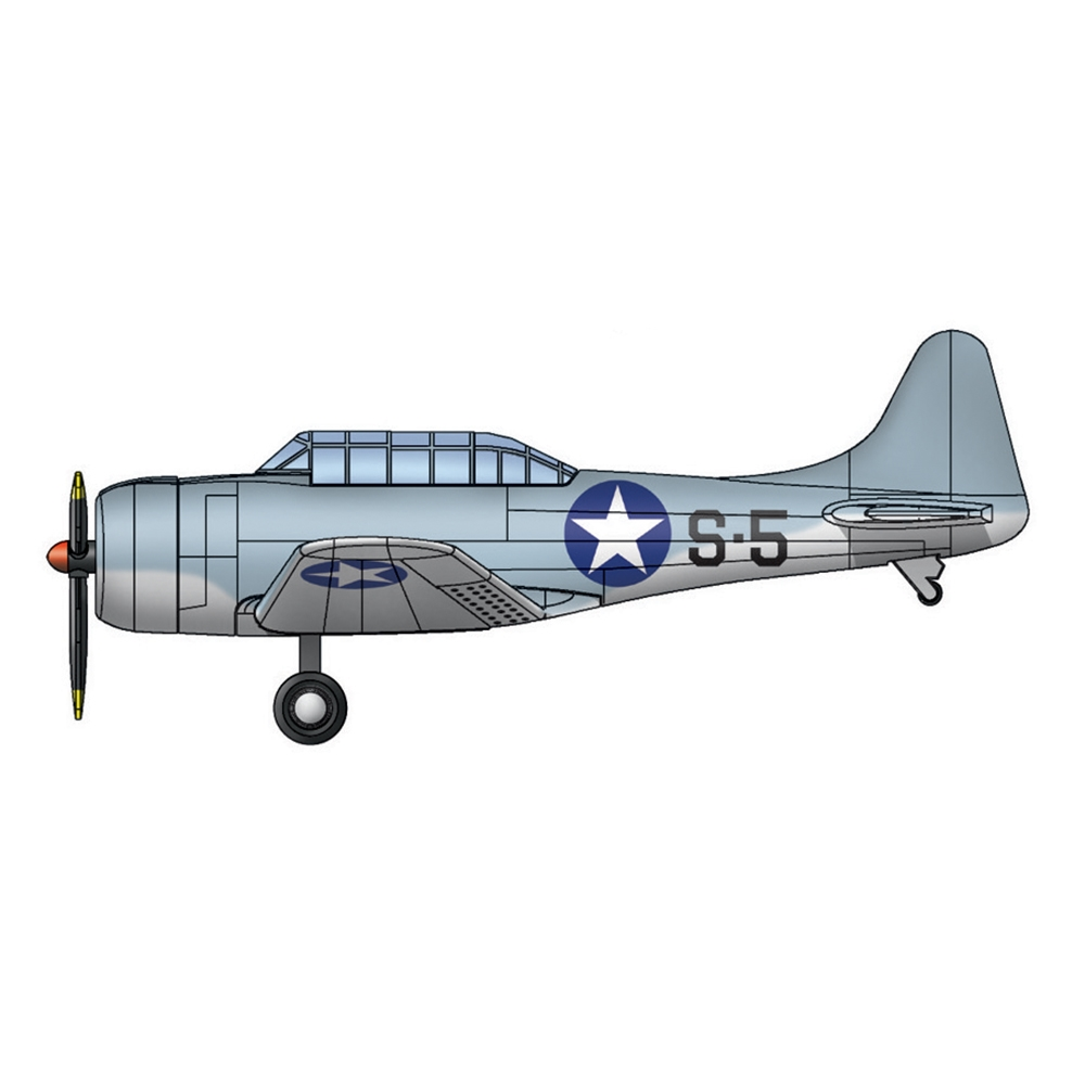 SBD-3 Dauntless for USS Hornet (qty 10)