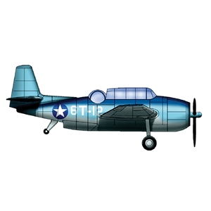 TBF/TBM Avenger for USS Essex (qty 6)