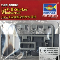 LAV-III/Stryker Windscreen Units