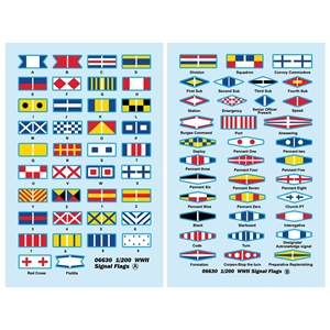WWII Signal Flags Decals