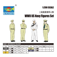 WWII US Navy Figures Set (60 figures)