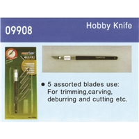 Hobby Knife (5 assorted blades)