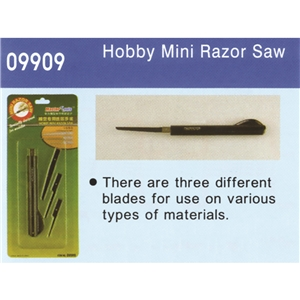 Mini Razor Saw (3 different blades)