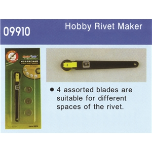 Rivet Maker (4 assorted blades)