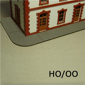 H0/00 Sidewalks Hexagon