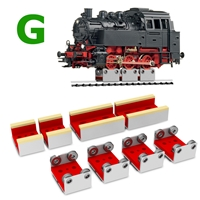 4X Rollers for G Scale