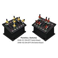 Point Control Switch Board w/LED Indicators (6 switches)