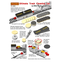 Wet & Dry Track Cleaning Car HO/OO