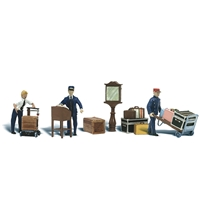 HO Depot Workers & Accessories