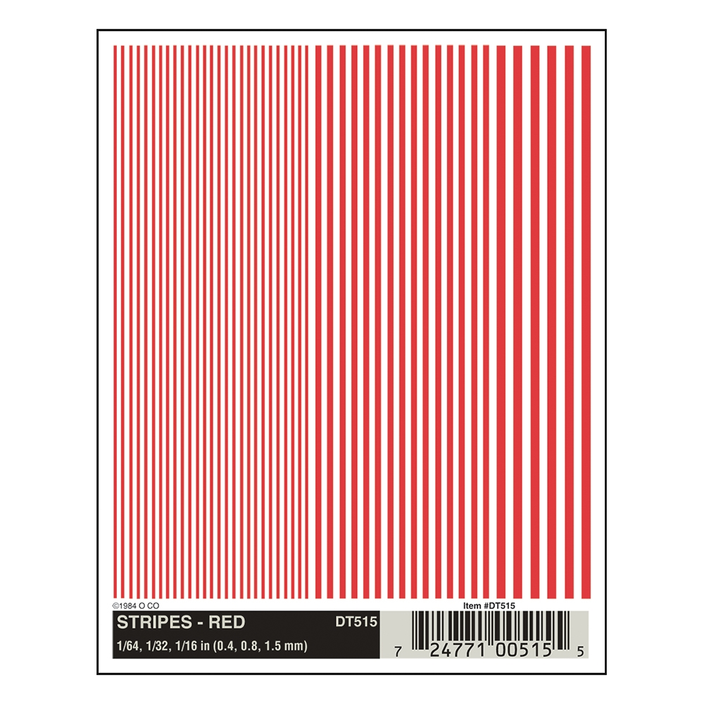 Stripes - Red