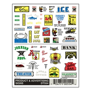 Product & Advertising Signs