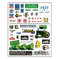 Assorted Logos & Advertising Signs