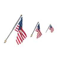 WJP5953 Small Wall Mount Flag US
