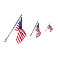 WJP5955 Large Wall Mount Flag US